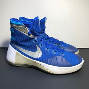 Nike Hyperdunk 2015 Women's Blue Basketball Shoes